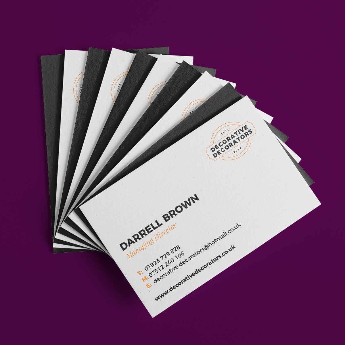 Business Cards with Artwork