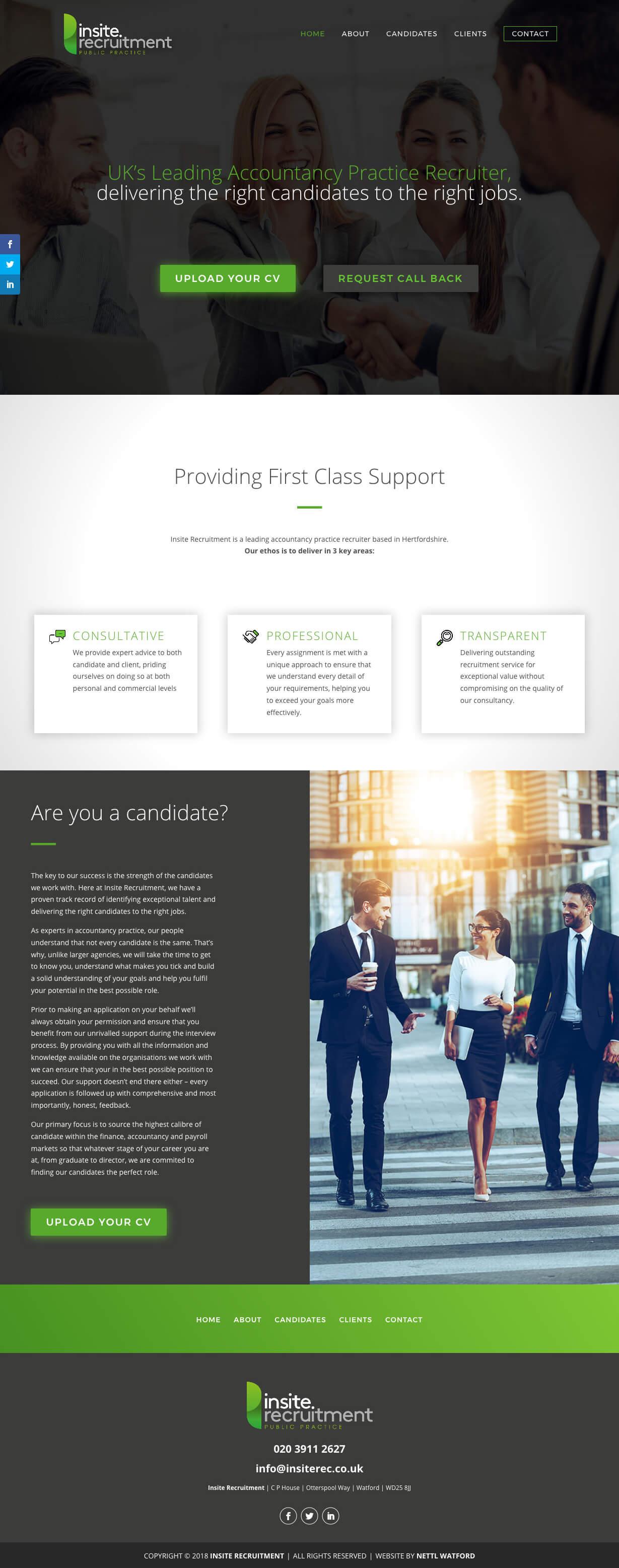 Insite-Recruitment-Website-Screenshot