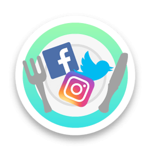 Social Media News Feed Icon