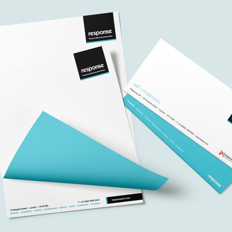 Letterhead & Compliment Slip Printing Watford